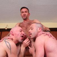 Matt Sizemore, Ross X, and Patrick O'Connor