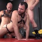 Bareback Pigs: Damon, Jeremy and Dusty