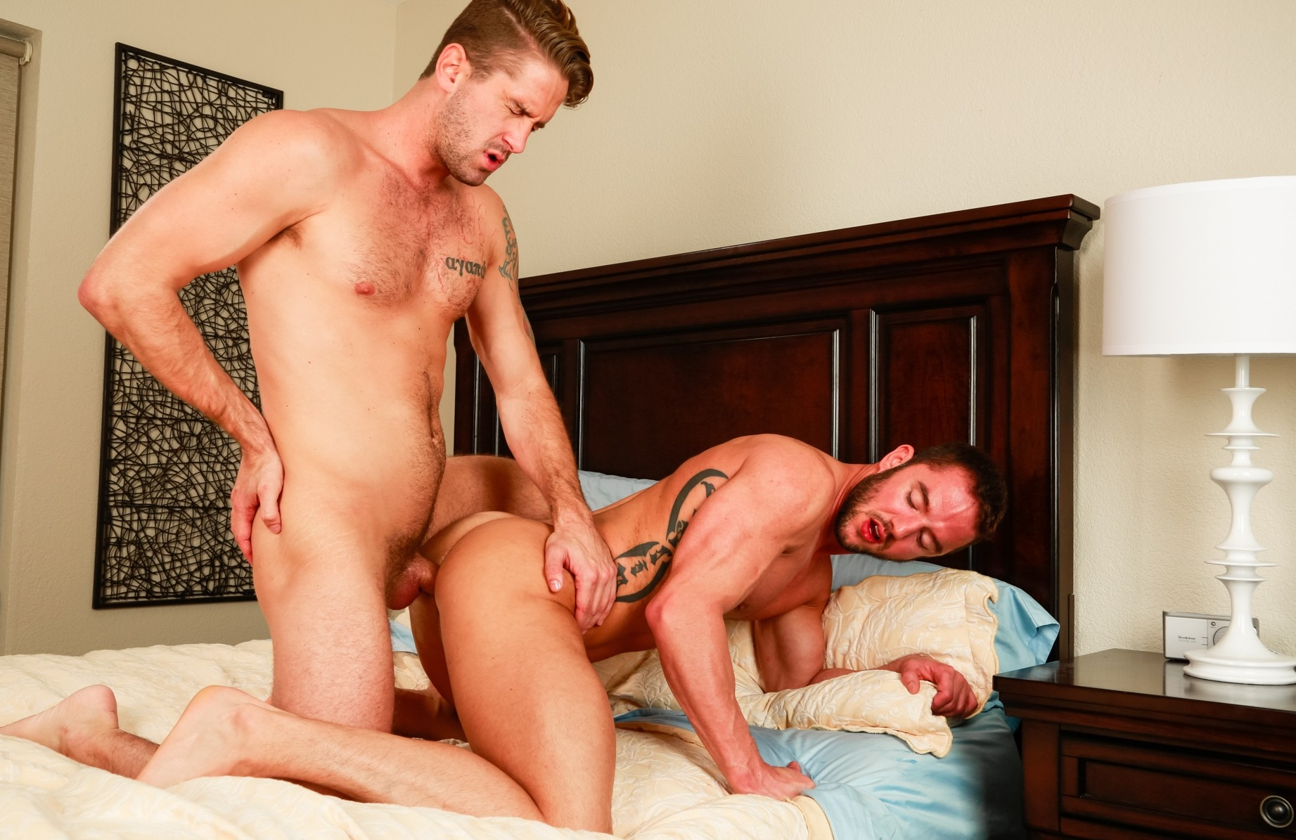 Wesley Woods and Jason Styles Bareback