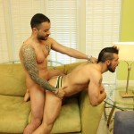 Gabriel Fisk and Aarin Asker Bareback