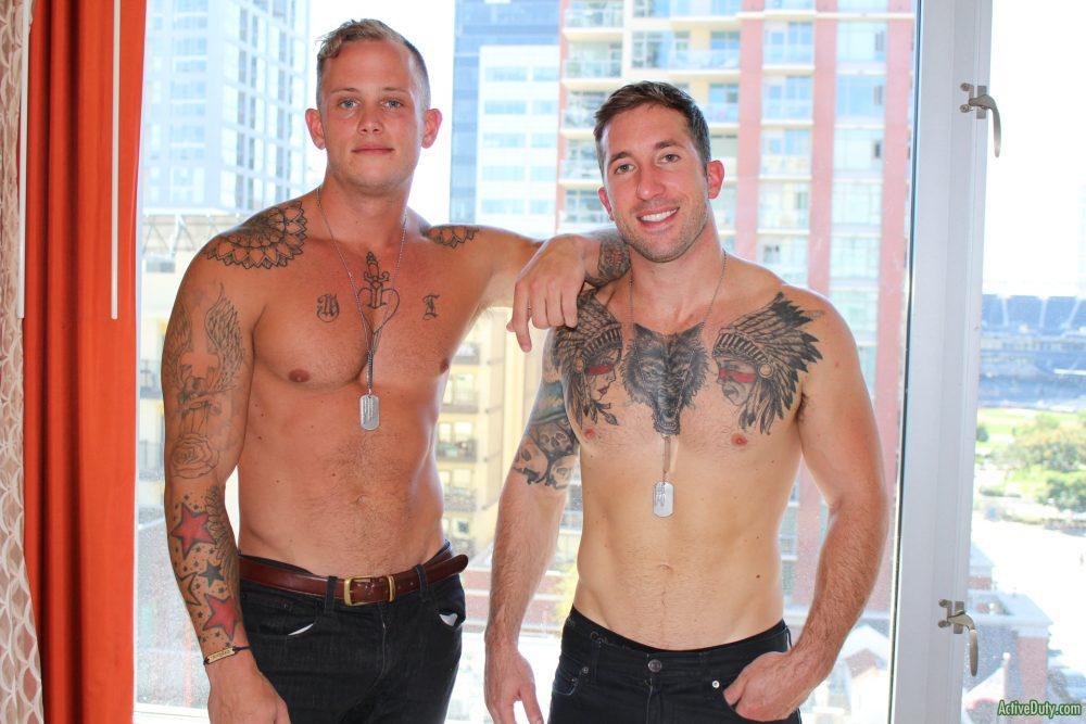 Zack Matthews and Brad Powers