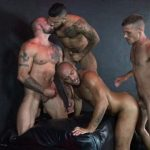 Leo Forte Barebacked By Sean Duran, Mario Cruz and Brett Bradley