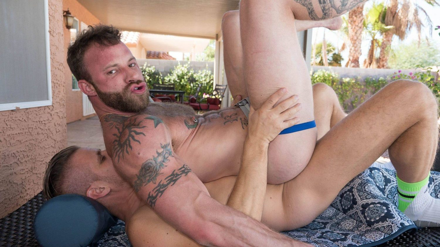 Tony Bishop and Derek Parker Bareback