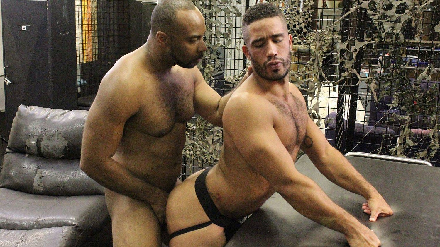 Ray Diesel and Trey Turner Bareback – Part 1