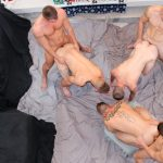 6-Man Bareback Orgy – Part 1