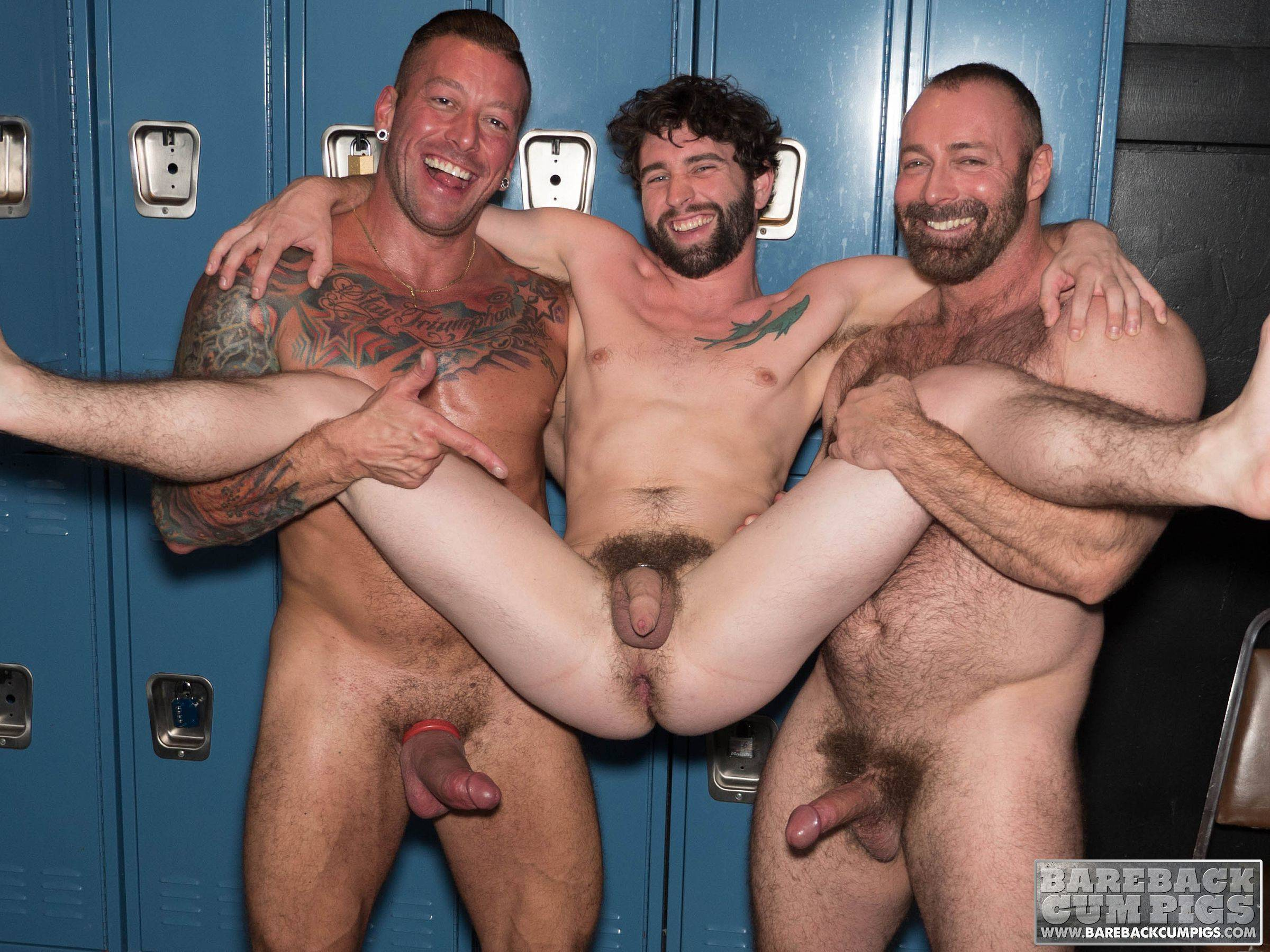 Hugh Hunter, Brad Kalvo and Jackson Fillmore