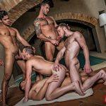 Brian Bonds' Gay Bareback Orgy