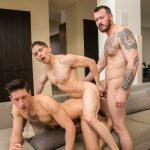 Mark Long, Dante Martin and Dalton Riley Gay Bareback