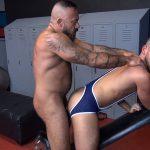 Alessio Romero and Owen Powers Gay Bareback