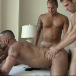 Marco Cruise, Andre Barclay, Michael Hengst and Zack Blunt Gay Bareback