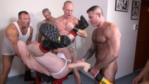 Cope's Gay Bareback Orgy 1