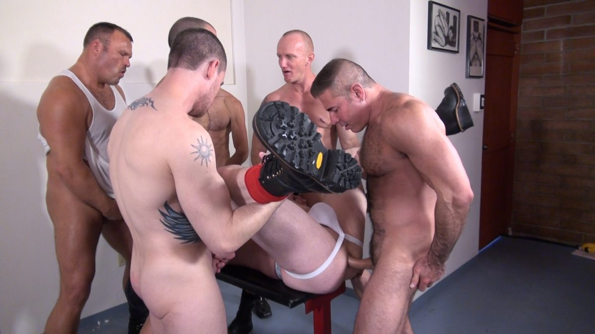 Cope's Gay Bareback Orgy