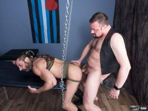 Jack Hardy and Amir Badri Gay Bareback 1