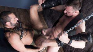 Jack Hardy and Amir Badri Gay Bareback 2