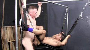 Saxon West and Armond Rizzo Gay Bareback 2