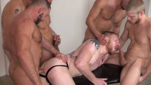Pigging Out: The Ultimate Gay Bareback Orgy 1