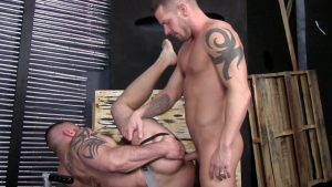 Shane Frost and Marco Cruise Gay Bareback 1