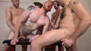 Pigging Out: The Ultimate Gay Bareback Orgy 2