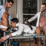 Lee Santino, Dylan James and Drae Axtell Gay Bareback