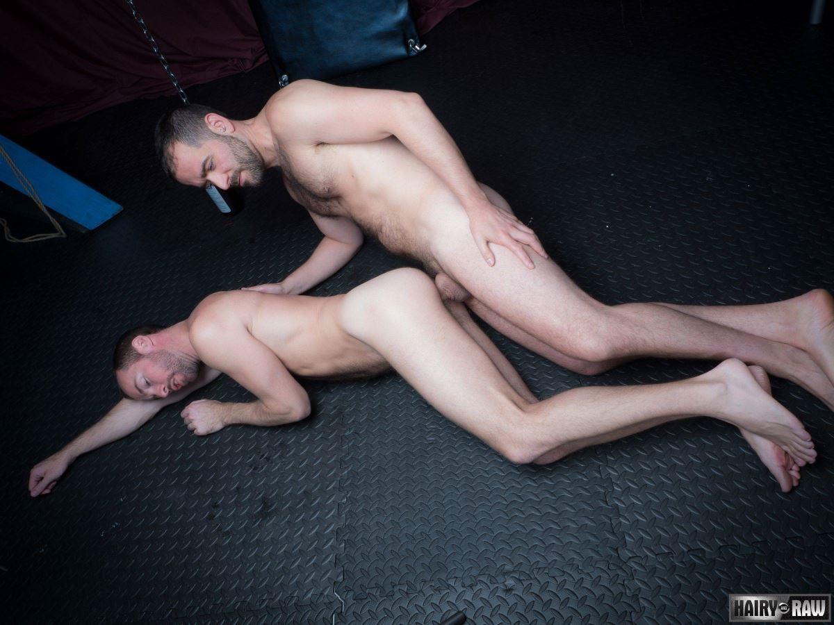 Eric Hassan and Alex Hawk Gay Bareback
