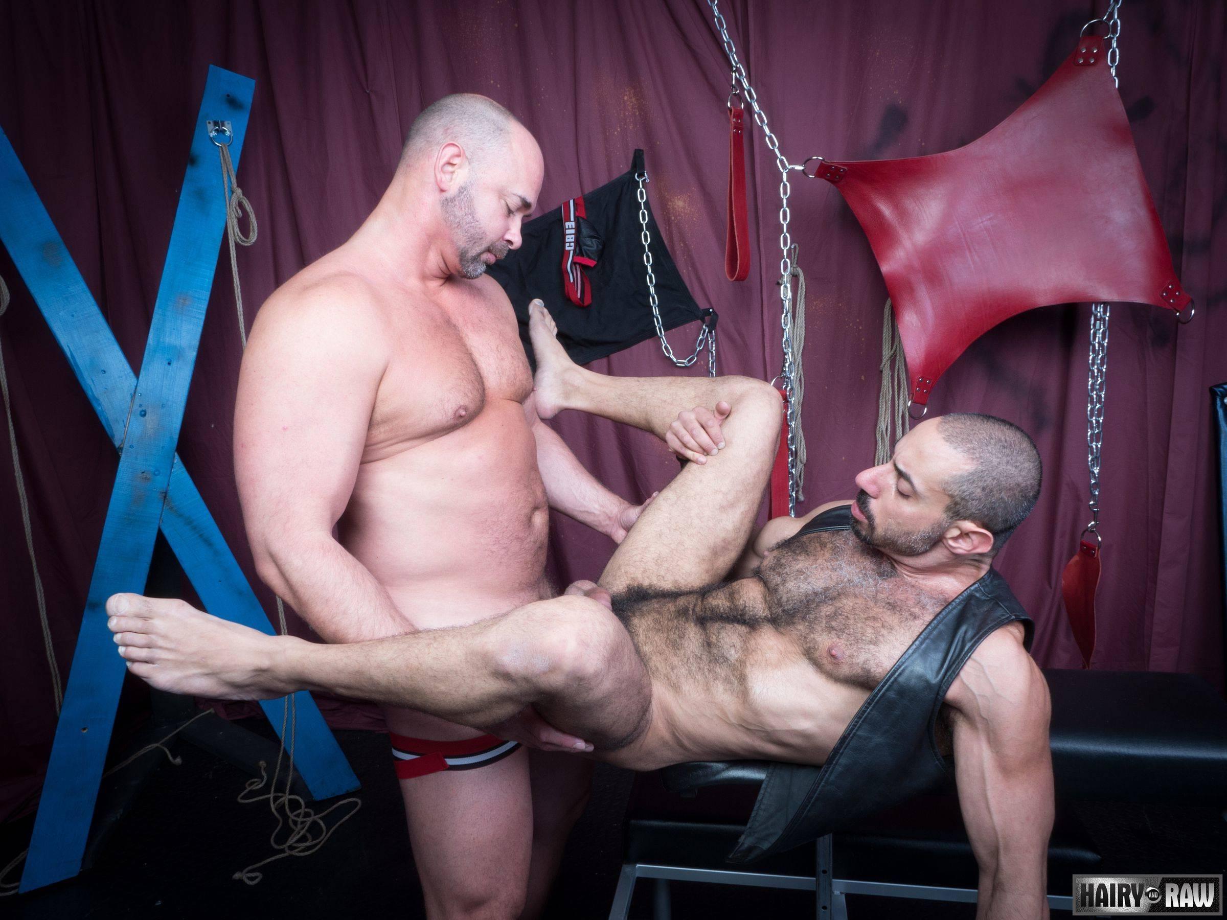 Amir Badri and Tyler Reed Gay Bareback