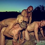 Derek, Mark, Danny and Antonio Biaggi Gay Bareback