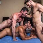 Drae Axtell, James Castle and Billy Santoro Gay Bareback