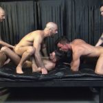 Jay, Dylan, Dean, Adam, and Blue Gay Bareback - Vol.1