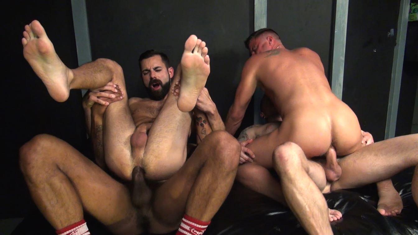 Max Cameron, Kory Mitchel, Dean Brody and Christian Matthews Gay Bareback
