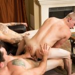 Johnny Riley, Chris Blades and TJ Lee Gay Bareback