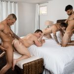 Quentin, Gunner, Eric and Zey Gay Bareback