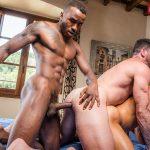 Billy Santoro, Klim Gromov and Pheonix Fellington Gay Bareback
