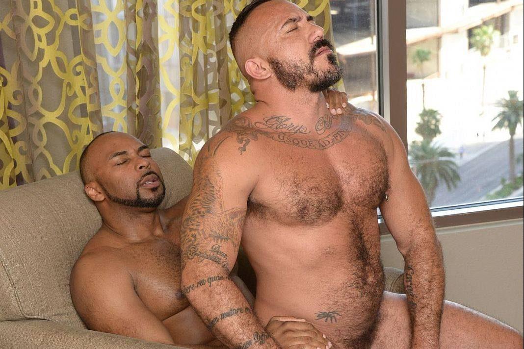 Ray Diesel and Alessio Romero Gay Bareback