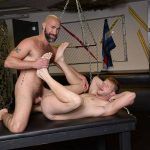 Damon Andros and Brian Bonds Gay Bareback