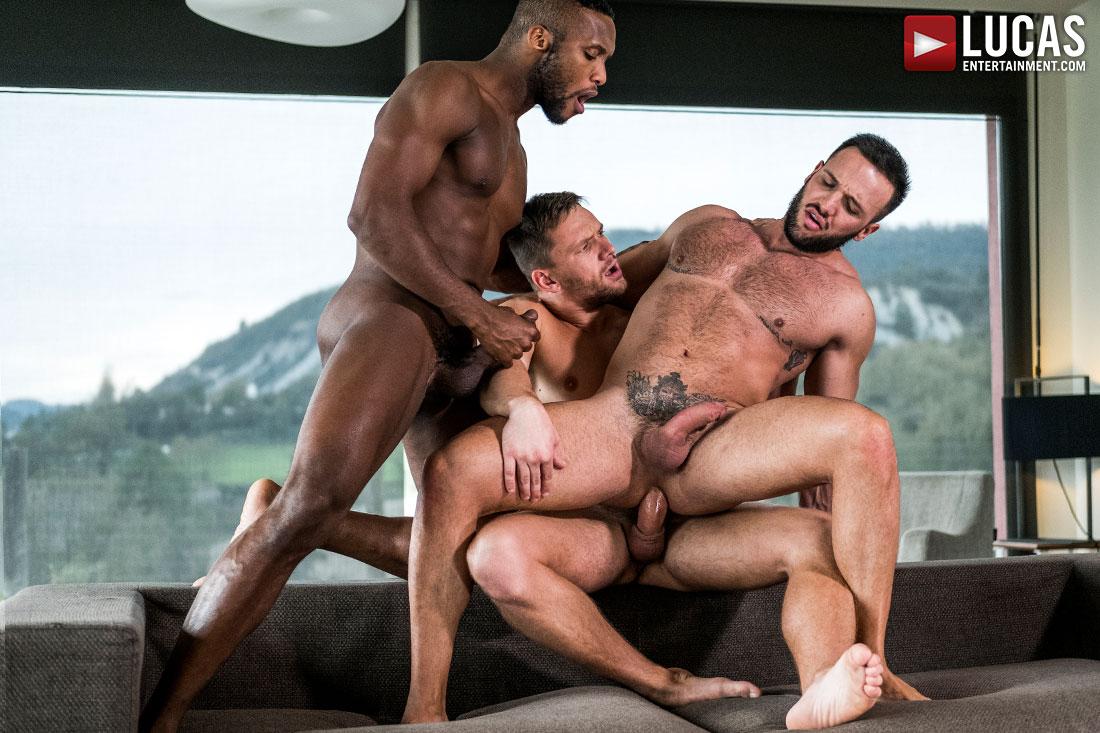 Donato Reyes, Andre Donovan and Andrey Vic Gay Bareback