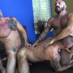 Jon Galt, Vic Rocco and Alessio Romero Gay Bareback