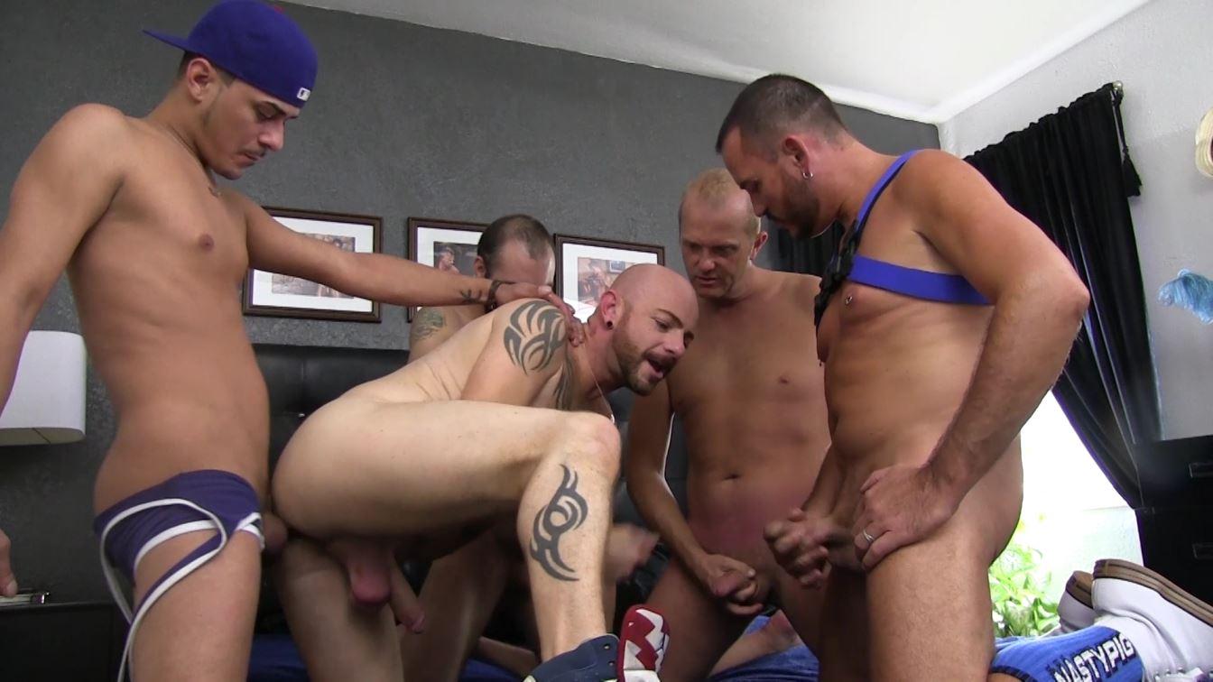 Tag Team Gay Barebacking Sean Hunter