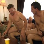 Cocktail Party Gay Bareback Orgy 1