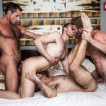 New Year's Gay Bareback Orgy