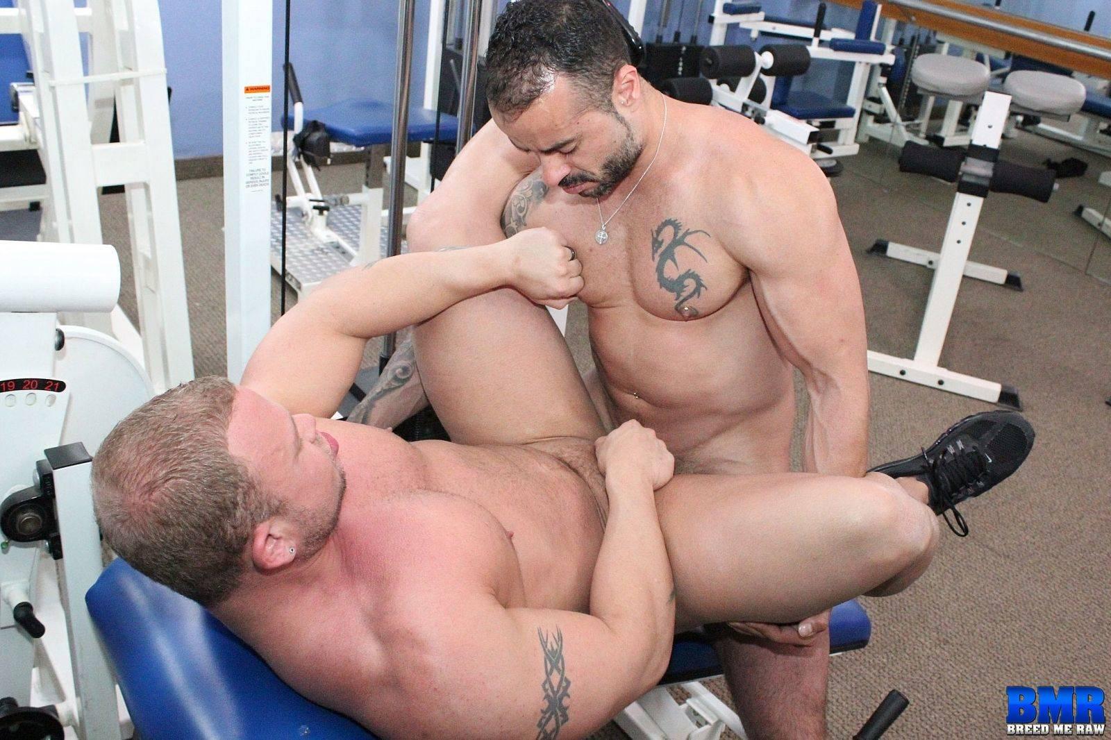 Gabriel Fisk and Daxton Ryker Gay Bareback