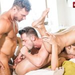 Manuel Skye, Damon Heart and Aaden Stark Gay Bareback