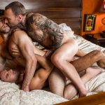 Ben Batemen, Dylan James and Manuel Skye Gay Bareback