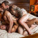 Ben Batemen, Dylan James and Manuel Skye Gay Bareback