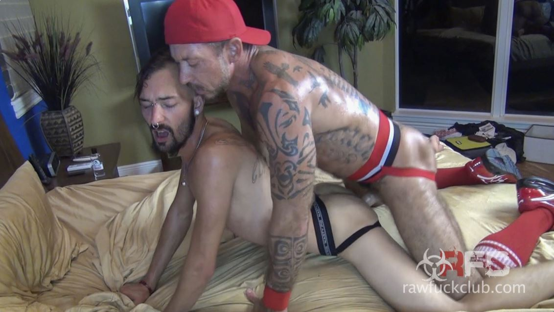 Vicent Knight and Ray Dalton Gay Bareback