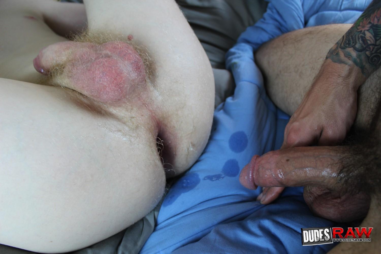 He's Cumming Inside My As Hole