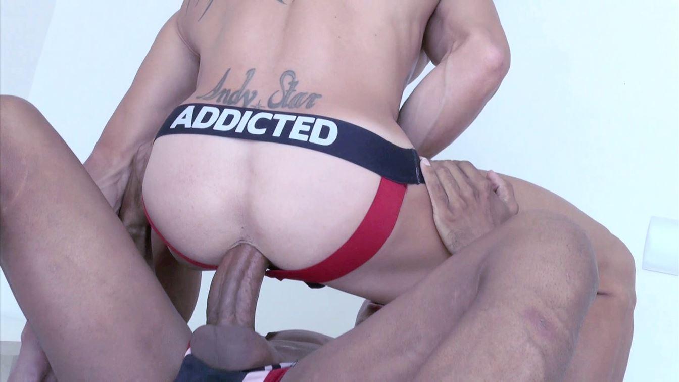 Power Gay Bareback Bottom Andy Star