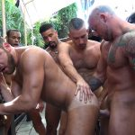 Logan Moore's Gay Bareback Orgy – Part 2