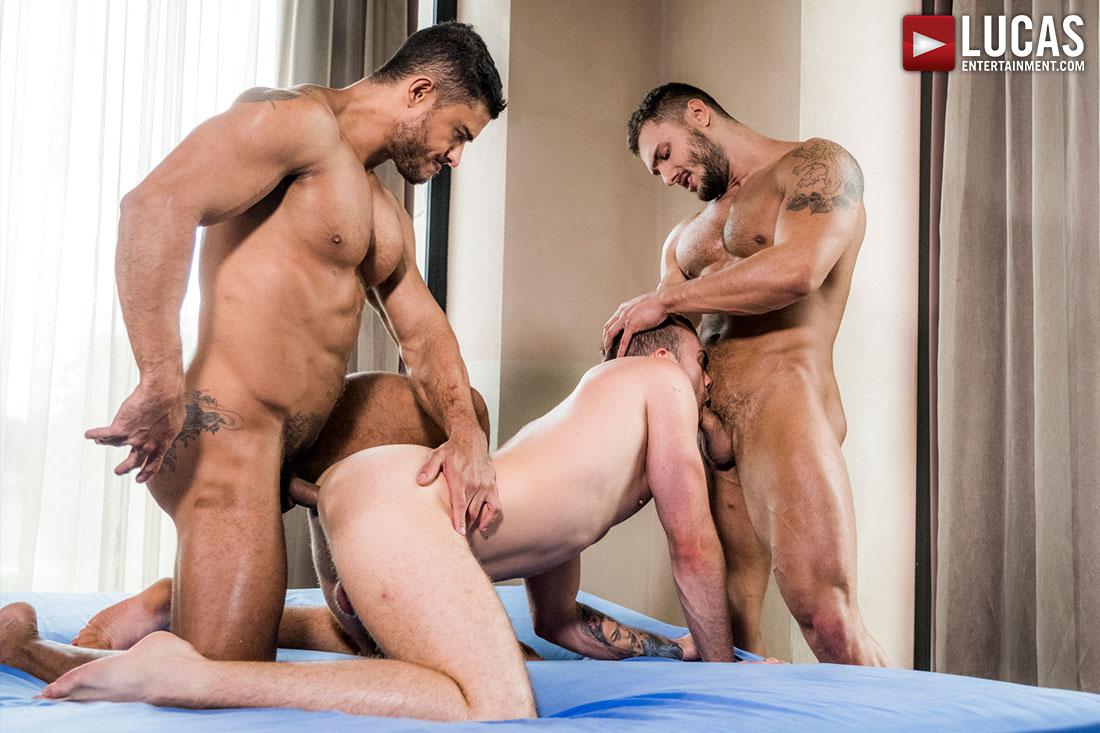 Triple Play: Jackson Radiz, Diego Lauzen and Brock Magnus