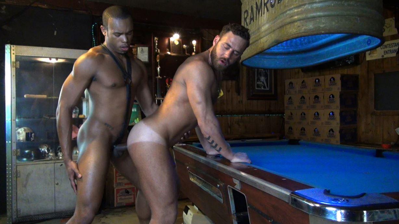 Logan Moore Takes Big Black Raw Dick