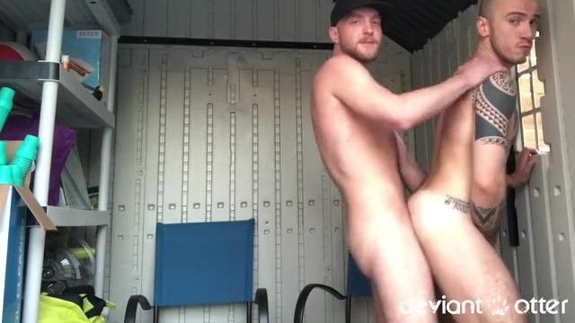 Deviant Otter Fucks Cam Christou